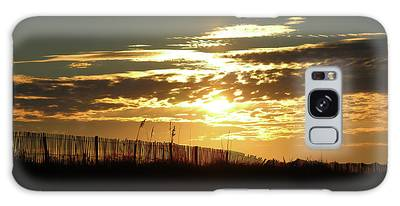 Galaxy Case featuring the photograph Glorious Sunset by Cynthia Guinn