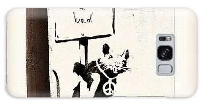 Banksy Galaxy Cases