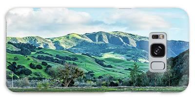 Green Mountains Galaxy Case