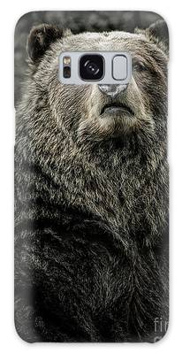 Galaxy Case featuring the photograph Grizzly Bear by Brad Allen Fine Art