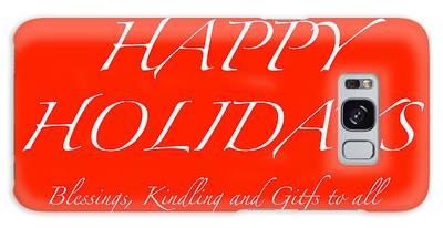 Happy Holidays - Day 1 Galaxy Case