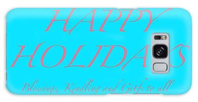 Happy Holidays - Day 3 Galaxy Case