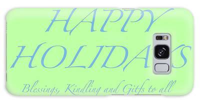 Happy Holidays - Day 4 Galaxy Case