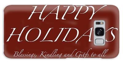 Happy Holidays - Day 6 Galaxy Case