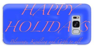 Happy Holidays - Day 7 Galaxy Case
