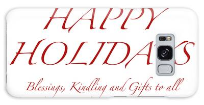 Happy Holidays - Day 8 Galaxy Case