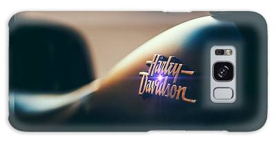 Galaxy Case featuring the photograph Harley Davidson Cycle by Ericamaxine Price