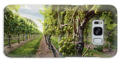 Harmony Vineyard Stony Brook New York Galaxy Case