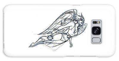 Hawkgirl Galaxy S8 Cases