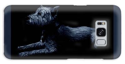 Highland Terrier Galaxy Case