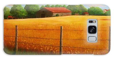 Home On The Farm Galaxy Case