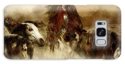 Horse Spirit Guides Galaxy Case
