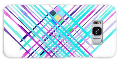 Galaxy Case featuring the digital art Improvised Geometry #2 by Bee-Bee Deigner