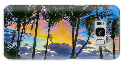 Galaxy Case featuring the photograph Indian River Sunrise by Tom Claud
