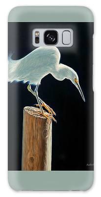 Interlude - Snowy Egret Galaxy Case