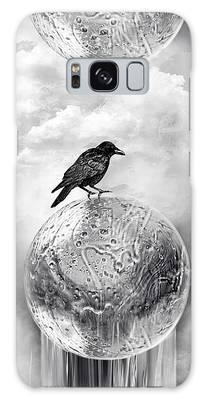 It's A Crow's World Galaxy Case