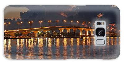 Galaxy Case featuring the photograph Jensen Beach Causeway by Tom Claud