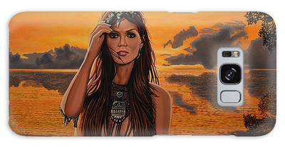 Central America Paintings Galaxy Cases