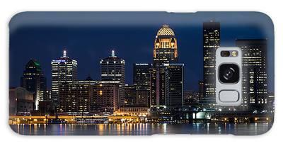Louisville At Night Galaxy Case