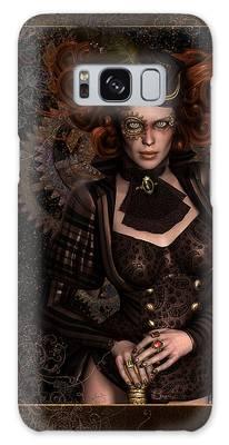 Lady Steampunk Galaxy Case