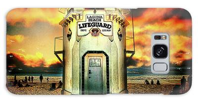 Laguna Beach Lifeguard Hq Galaxy Case