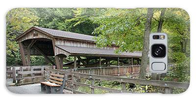 Lanterman's Mill Covered Bridge Galaxy Case