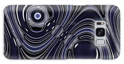 Lapis And Chrome Abstract Galaxy Case