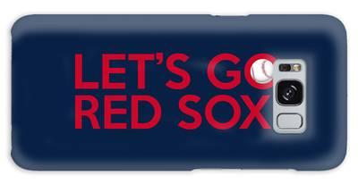 Let's Go Red Sox Galaxy Case