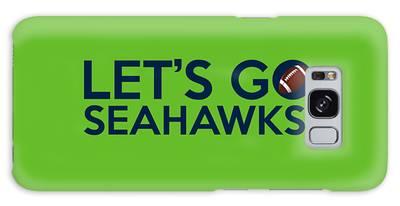 Let's Go Seahawks Galaxy Case