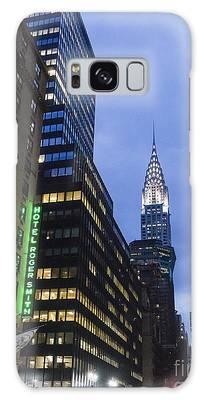 Lexington Avenue, Chrysler Building, New York  Galaxy Case by Juergen Held