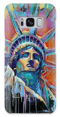 Statue Of Liberty Galaxy Cases
