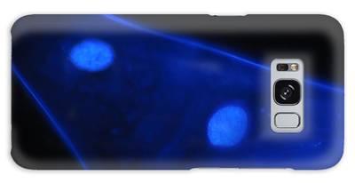 Liquid Blue 1 Galaxy Case
