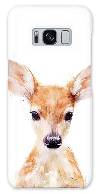 Wildlife Paintings Galaxy Cases