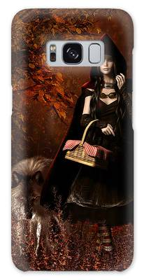 Little Red Riding Hood Gothic Galaxy Case