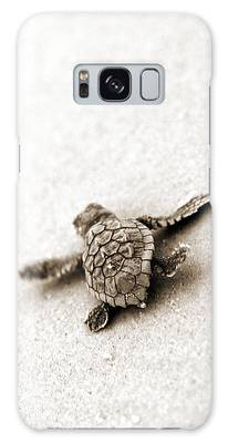 Turtle Photographs Galaxy Cases