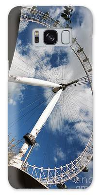 London Ferris Wheel Galaxy Case