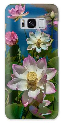 Lotus Pool Galaxy Case