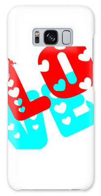Galaxy Case featuring the digital art Love by Bee-Bee Deigner