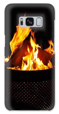 Love Of Fire Galaxy Case
