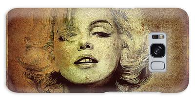 Galaxy Case featuring the photograph Marilyn Monroe Star by Ericamaxine Price
