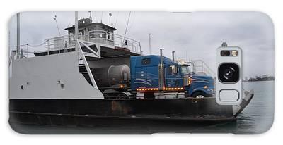 Marine City Mich Car Truck Ferry Galaxy Case