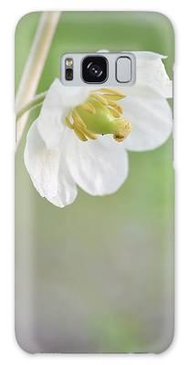 Mayapple Flower Galaxy Case
