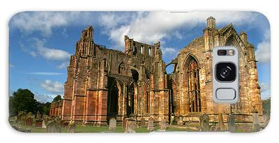Melrose Abbey Galaxy Case