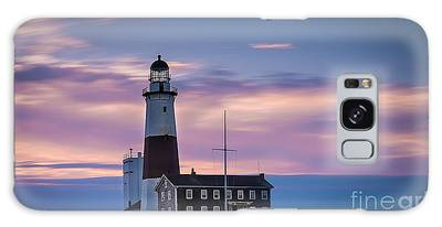 Montauk Lighthousepastel  Sunrise Galaxy Case