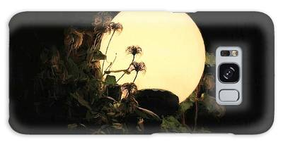 Moonglow Thistles Galaxy Case