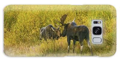 Moose Couple Galaxy Case