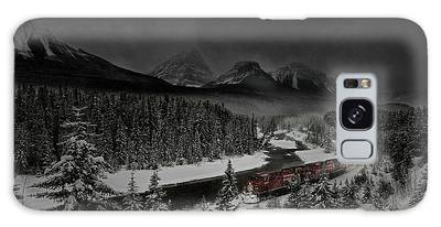 Galaxy Case featuring the photograph Morant's Curve At Night by Brad Allen Fine Art