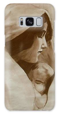 Mother And Child Galaxy Case