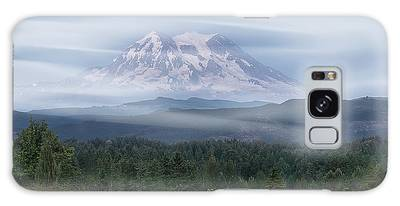 Galaxy Case featuring the photograph Mt. Rainier by Patti Deters