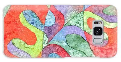 Multicolor Oak Leaf Galaxy Case